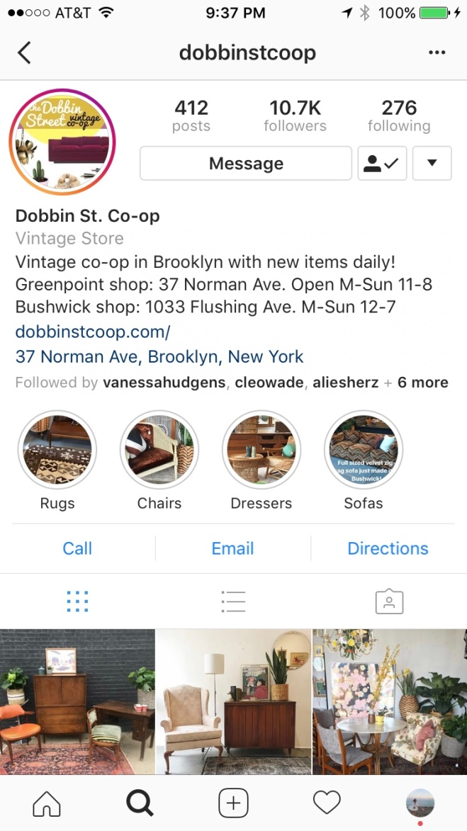 Best Vintage Home Decor Shops in NYC